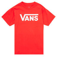 Textiel Kinderen T-shirts korte mouwen Vans VANS CLASSIC TEE Rood
