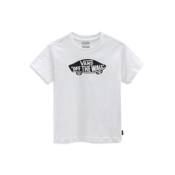 Textiel Kinderen T-shirts korte mouwen Vans VANS CLASSIC TEE Wit