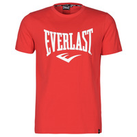 Textiel Heren T-shirts korte mouwen Everlast EVL- BASIC TEE-RUSSEL Rood