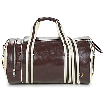 Tassen Heren Sporttas Fred Perry CLASSIC BARREL BAG Bruin