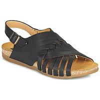 Schoenen Dames Sandalen / Open schoenen El Naturalista ZUMAIA Zwart