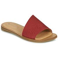 Schoenen Dames Leren slippers El Naturalista TULIP Rood