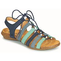 Schoenen Dames Sandalen / Open schoenen El Naturalista WAKATAUA Blauw