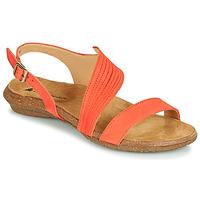 Schoenen Dames Sandalen / Open schoenen El Naturalista WAKATAUA Oranje