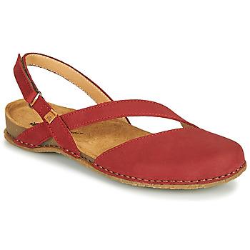 Schoenen Dames Sandalen / Open schoenen El Naturalista PANGLAO Rood