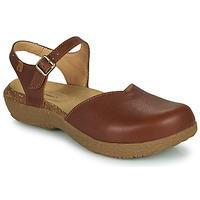 Schoenen Dames Sandalen / Open schoenen El Naturalista WAKATIWAI Bruin