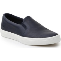 Schoenen Dames Instappers Lacoste Gazon Slip On 116 1 CAW 7-31CAW0116003 navy