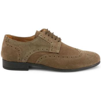 Schoenen Heren Derby Madrid - 606_camoscio Bruin