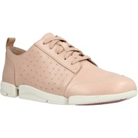 Schoenen Dames Lage sneakers Clarks TriAmelia Edge Roze