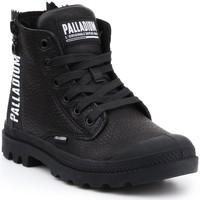 Schoenen Dames Hoge sneakers Palladium Manufacture Pampa UBN ZIPS 96857-008-M black