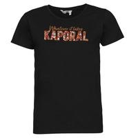 Textiel Dames T-shirts korte mouwen Kaporal PENIN Zwart