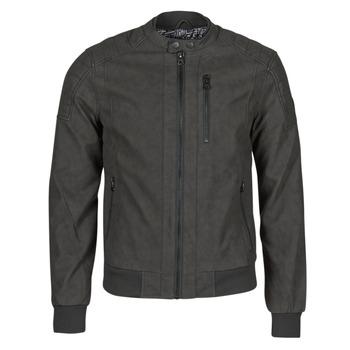 Textiel Heren Leren jas / kunstleren jas Kaporal KYRO Zwart