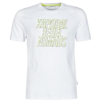 Textiel Heren T-shirts korte mouwen Kaporal DARIN Wit