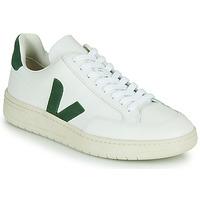 Schoenen Lage sneakers Veja V-12 Wit / Groen