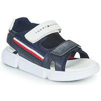 Schoenen Kinderen Sandalen / Open schoenen Tommy Hilfiger TIFFOU Blauw