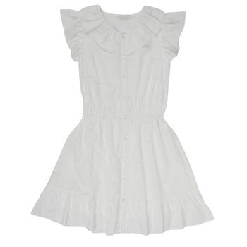Textiel Meisjes Korte jurken Name it NKFDORITA Wit