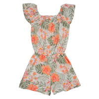 Textiel Meisjes Jumpsuites / Tuinbroeken Name it NKFVINAYA PLAYSUIT Multicolour