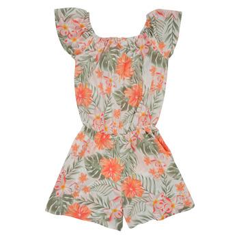 Textiel Meisjes Jumpsuites / Tuinbroeken Name it NKFVINAYA PLAYSUIT Multicolour