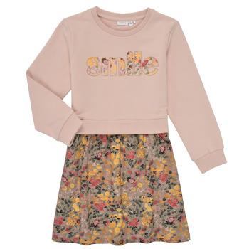 Textiel Meisjes Korte jurken Name it NMFBADA Grijs