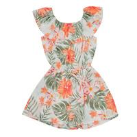 Textiel Meisjes Jumpsuites / Tuinbroeken Name it NMFVINAYA Multicolour