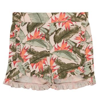 Textiel Meisjes Korte broeken / Bermuda's Name it NMFFIBLOOM SHORTS Multicolour