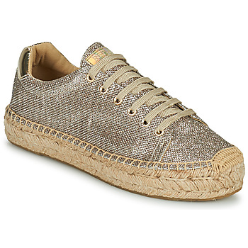 Schoenen Dames Lage sneakers Replay NASH Brons / Goud