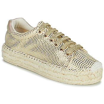 Schoenen Dames Lage sneakers Replay NASH Goud
