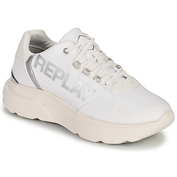 Schoenen Dames Lage sneakers Replay MAYFAIR Wit