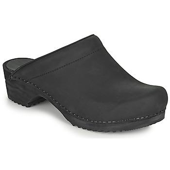 Schoenen Dames Klompen Sanita CHRISSY Zwart