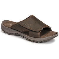 Schoenen Heren Leren slippers Merrell SANDSPUR II SLIDE Bruin