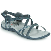 Schoenen Dames Outdoorsandalen Merrell TERRAN LATTICE II Blauw