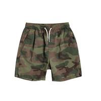 Textiel Jongens Korte broeken / Bermuda's Quiksilver TAXER WS Kaki