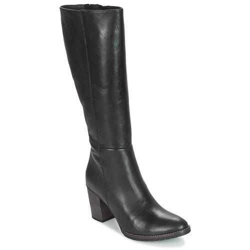 Schoenen Dames Hoge laarzen Betty London ISME Zwart