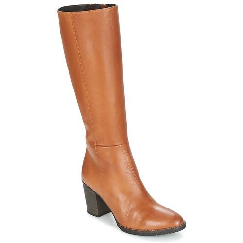 Schoenen Dames Hoge laarzen Betty London ISME Camel