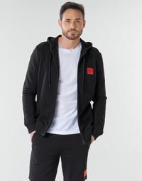 Textiel Heren Sweaters / Sweatshirts BOSS DAPLE Zwart