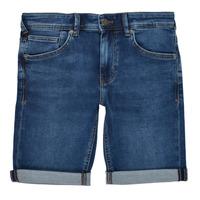 Textiel Jongens Korte broeken / Bermuda's Teddy Smith SCOTTY 3 Blauw / Donker