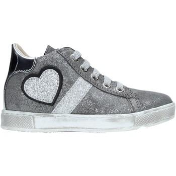 Schoenen Kinderen Hoge sneakers Naturino 2014191 01 Zilver