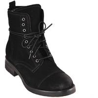 Schoenen Dames Enkellaarzen Mally 5038 Zwart