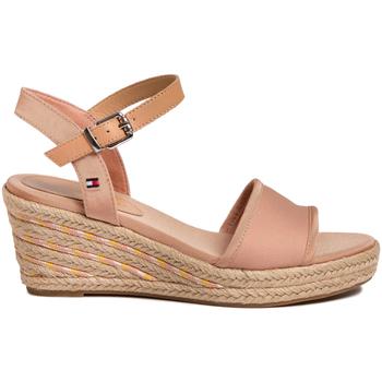 Schoenen Dames Sandalen / Open schoenen Tommy Hilfiger FW0FW04773 Roze