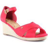 Schoenen Dames Sandalen / Open schoenen Wrangler WL01520A Roze