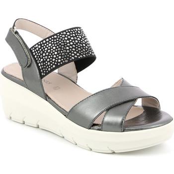 Schoenen Dames Sandalen / Open schoenen Grunland SA1880 Zwart