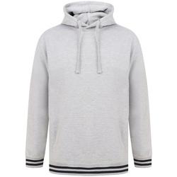 Textiel Sweaters / Sweatshirts Front Row FR841 Heide Grijs/Navy
