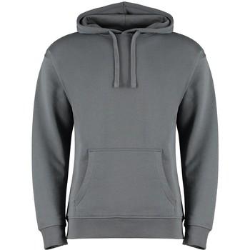 Textiel Heren Sweaters / Sweatshirts Kustom Kit K333 Donkergrijs