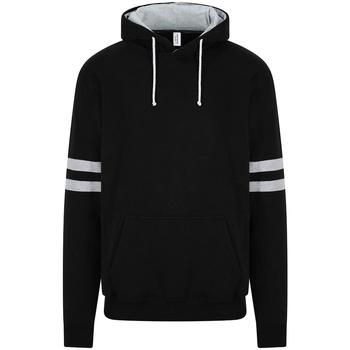 Textiel Sweaters / Sweatshirts Awdis JH103 Diep zwart/Heather Grey