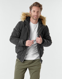 Textiel Heren Wind jackets Schott WASHINGTON2 Zwart