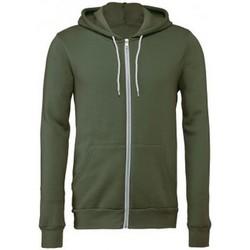 Textiel Sweaters / Sweatshirts Bella + Canvas CV3739 Militair Groen