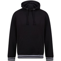 Textiel Sweaters / Sweatshirts Front Row FR841 Zwart/Heather Grey