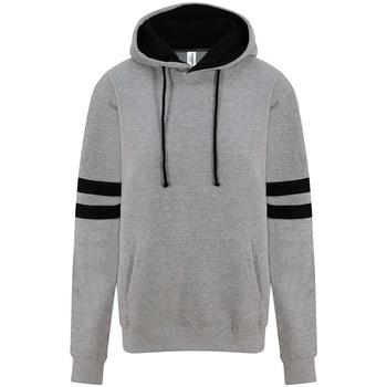 Textiel Sweaters / Sweatshirts Awdis JH103 Heide Grijs/Diep Zwart