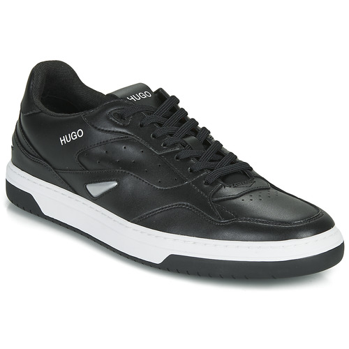 Schoenen Heren Lage sneakers HUGO SWITON TENN FL Zwart
