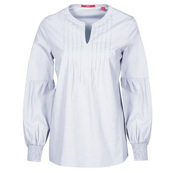 Textiel Dames Tops / Blousjes S.Oliver 14-1Q1-11-4016-48W6 Mauve